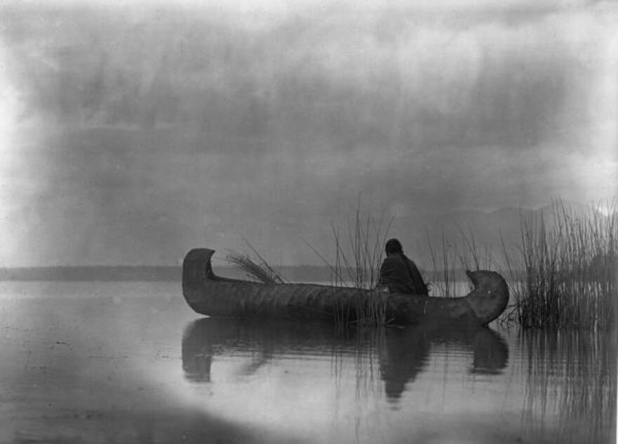 Kootenai duck hunter, 1910