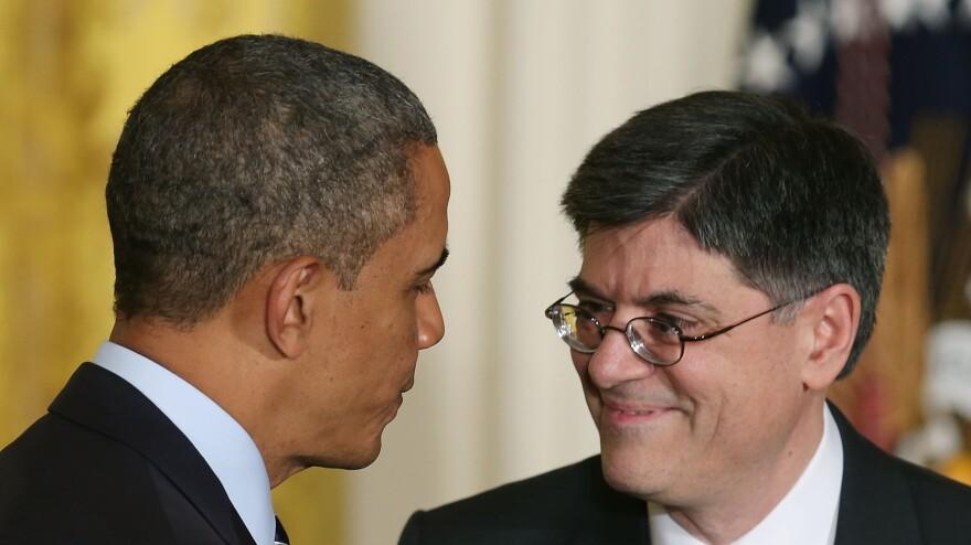 President Obama nominates Jacob Lew to be his second-term Treasury secretary on Thursday at the White House.
