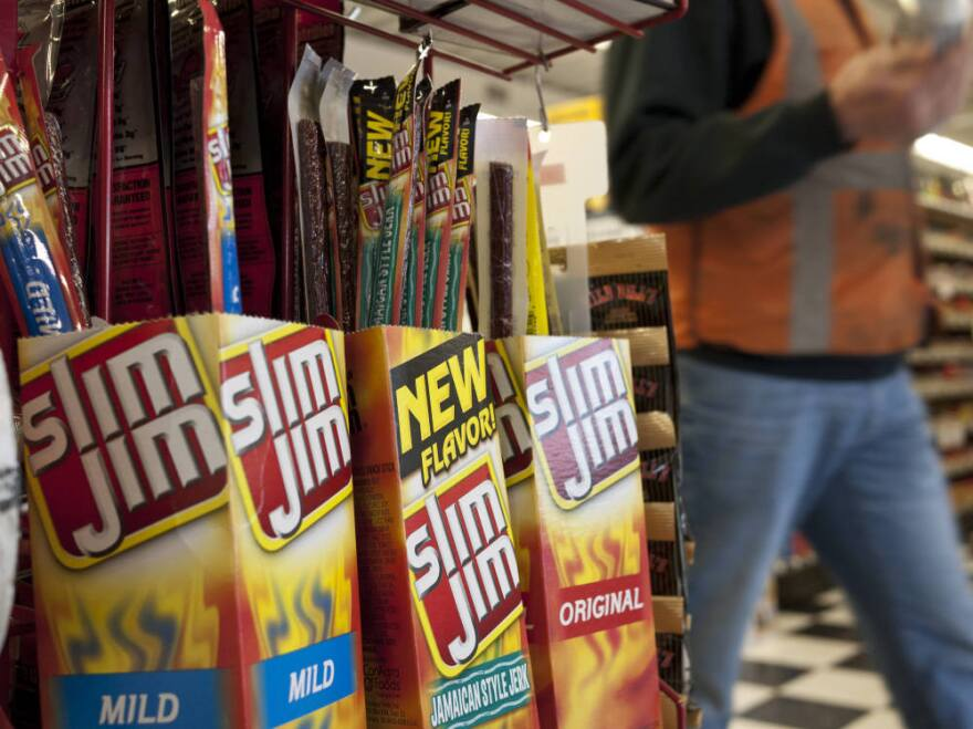 ConAgra, the maker of Slim Jims, says that Sarah Palin might have been thinking of a king-sized version of its product when she cited a steep price hike.