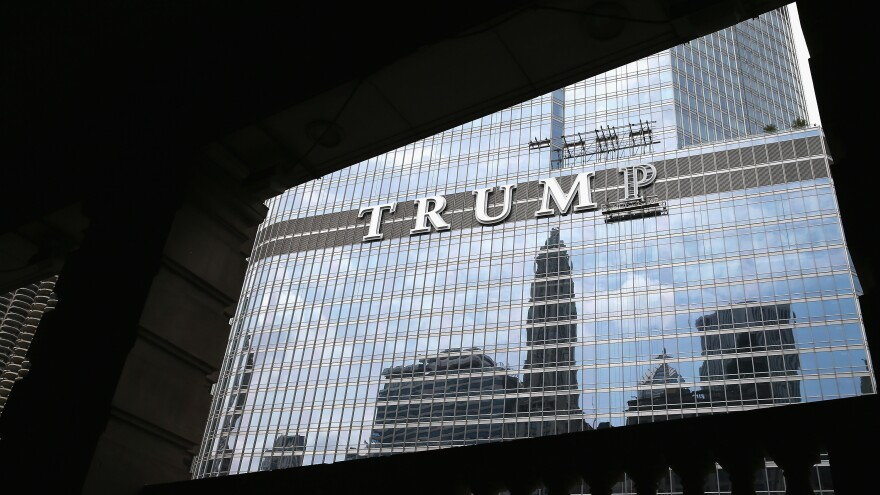 "<em>Forbes</em>' journalist Dan Alexander writes about the president's potential conflicts of interest in <em>White House, Inc</em>. ""You can't have a blind trust and have a building that says 'Trump Tower' on the outside of [it],"" Alexander says. ""How blind is that?"""