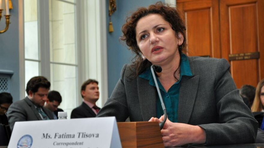 Fatima Tlisova is an investigative reporter from Russia's North Caucasus region. During the 11 years she worked as a reporter there, she says she was repeatedly threatened and attacked.