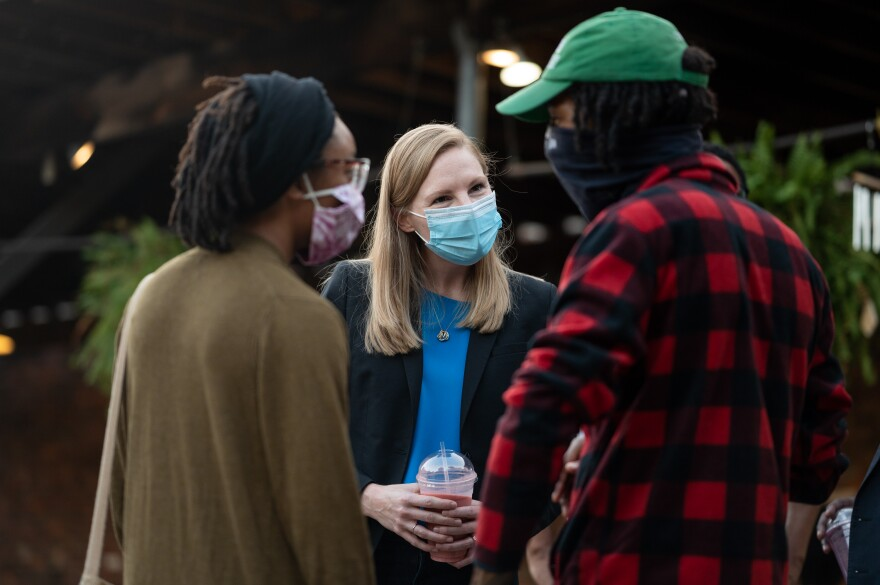 Galloway has made both health care policy and the response to the COVID-19 pandemic a central aspect of her campaign against Gov. Mike Parson.