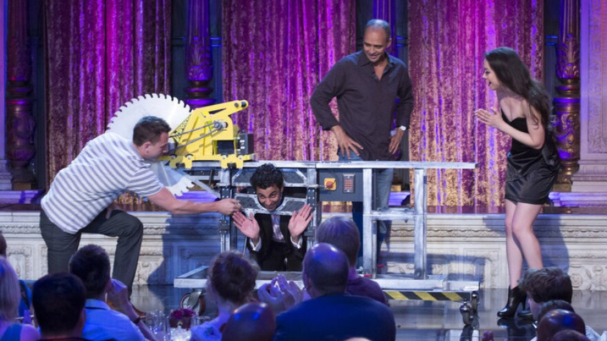Syfy's <em>Wizard Wars</em> is a reality series featuring a new team of magicians each week, who are challenged to transform random props into magical illusions.