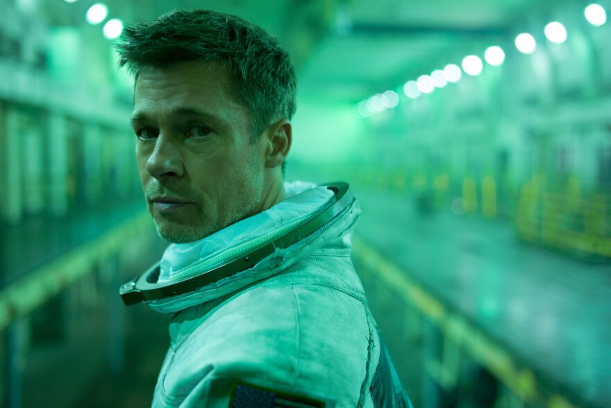 Brad Pitt stars in <em>Ad Astra </em>as an astronaut in search of his father, who disappeared on a mission many years prior.
