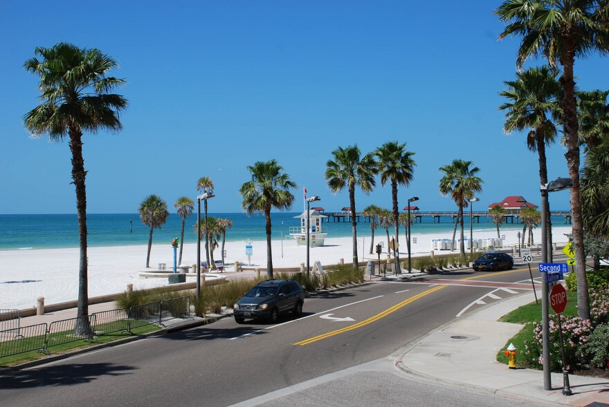 Clearwater Beach, and other beaches across Pinellas County, are reopening today.