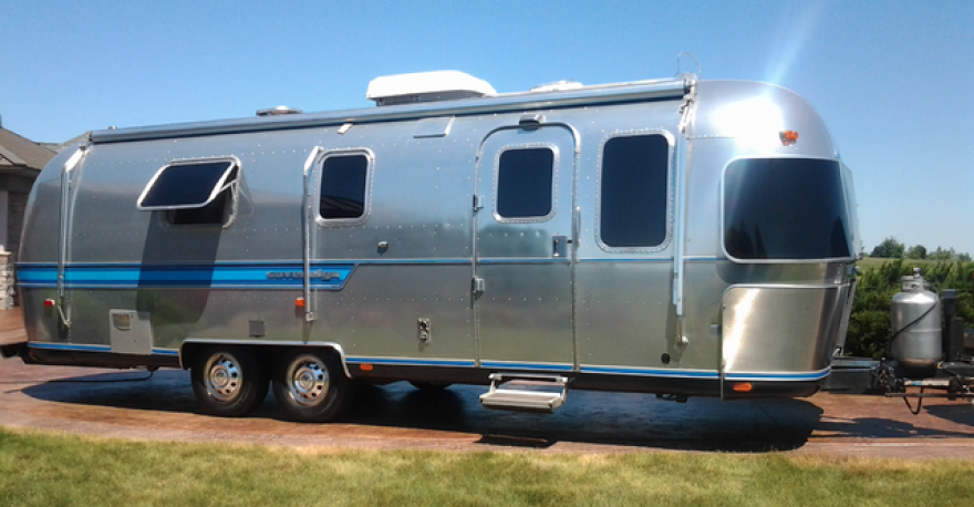 27 foot 1987 Airstream Sovereign built at the Jackson Center Ohio Airstream factory.