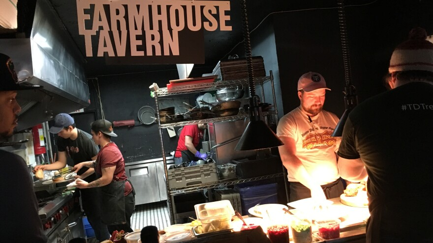Farmhouse Tavern in Toronto has found a way to turn quiet Sundays, which often lead to either throwing away food or freezing it, into a way to sell out menu items.