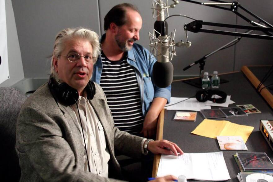 Greg Haymes and Michael Eck Host Exit Dome broadcast
