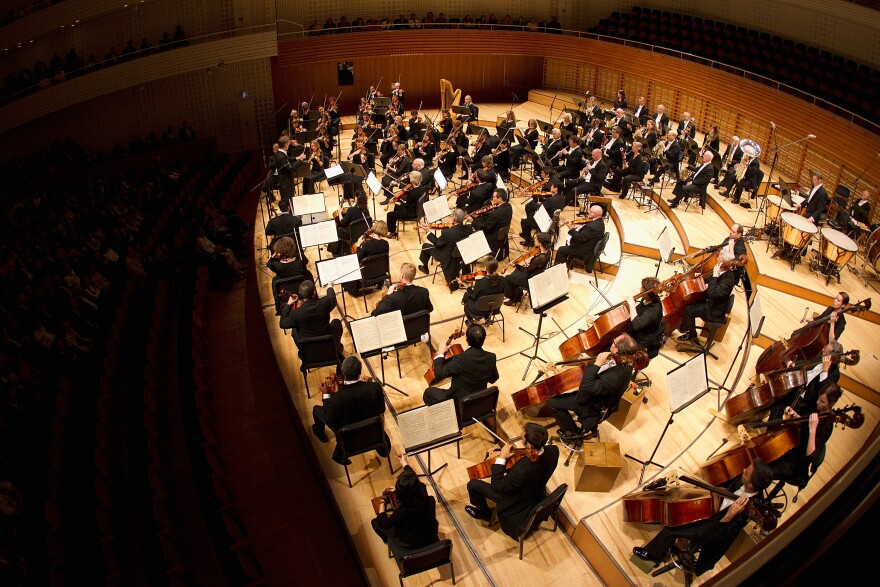 The St. Louis Symphony Orchestra performs in Lucerne, Switzerland, 2012