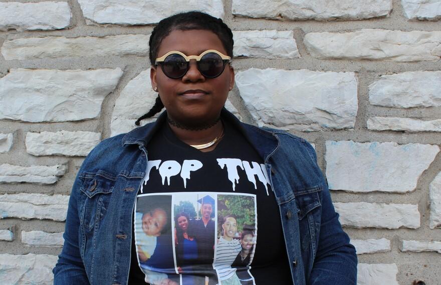 Asha Preyor lost her cousin to gun violence in November.