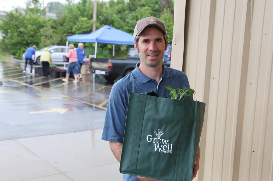 Bill McKelvey created Grow Well Missouri with a five-year grant from the Missouri Foundation for Health to help create more access to produce — and the health benefits that come with growing it yourself.