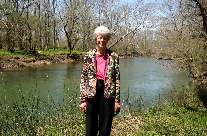 Hope Taft, chair of the Little Miami River Watershed Network, in 2018.