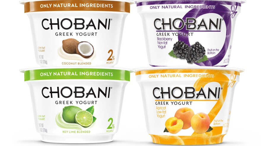 """The Chobani Greek yogurt company says the mold that caused some of its products to bloat or swell is not normally harmful to people. On Thursday, Chobani said, """"To be extra cautious, we have moved from a voluntary withdrawal to a voluntary recall."""""""