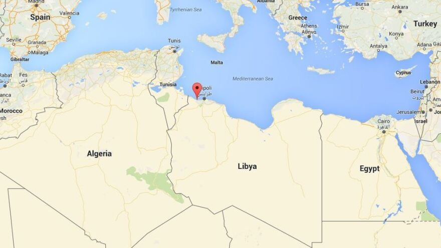 U.S. airstrikes early Friday targeted an ISIS training camp near Sabratha, Libya, less than 50 miles west of Tripoli.
