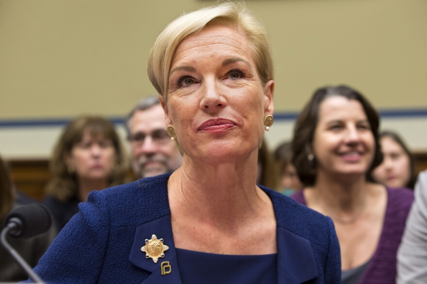 """Planned Parenthood Federation of America President Cecile Richards listens while testifying during a Sept. 29 House panel hearing on """"Planned Parenthood's Taxpayer Funding."""""""