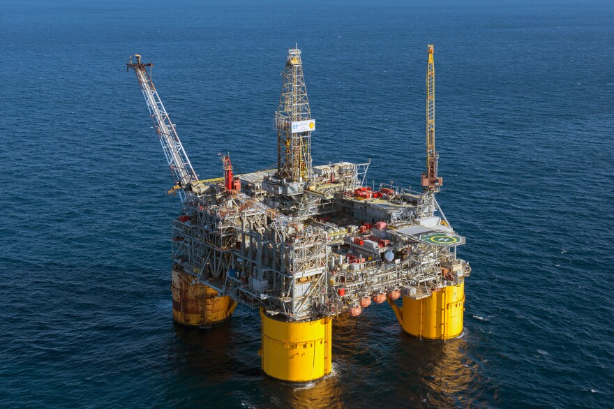 Shell's Ursa platform, 130 miles southeast of New Orleans, was the largest in the world when it was finished in 1999.