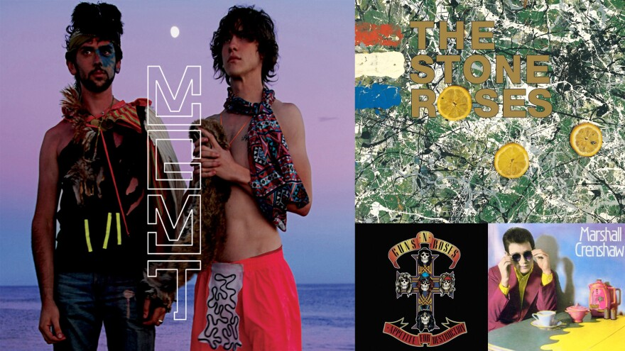MGMT, The Stone Roses, Guns N' Roses and Marshall Crenshaw all made career-defining debut albums.