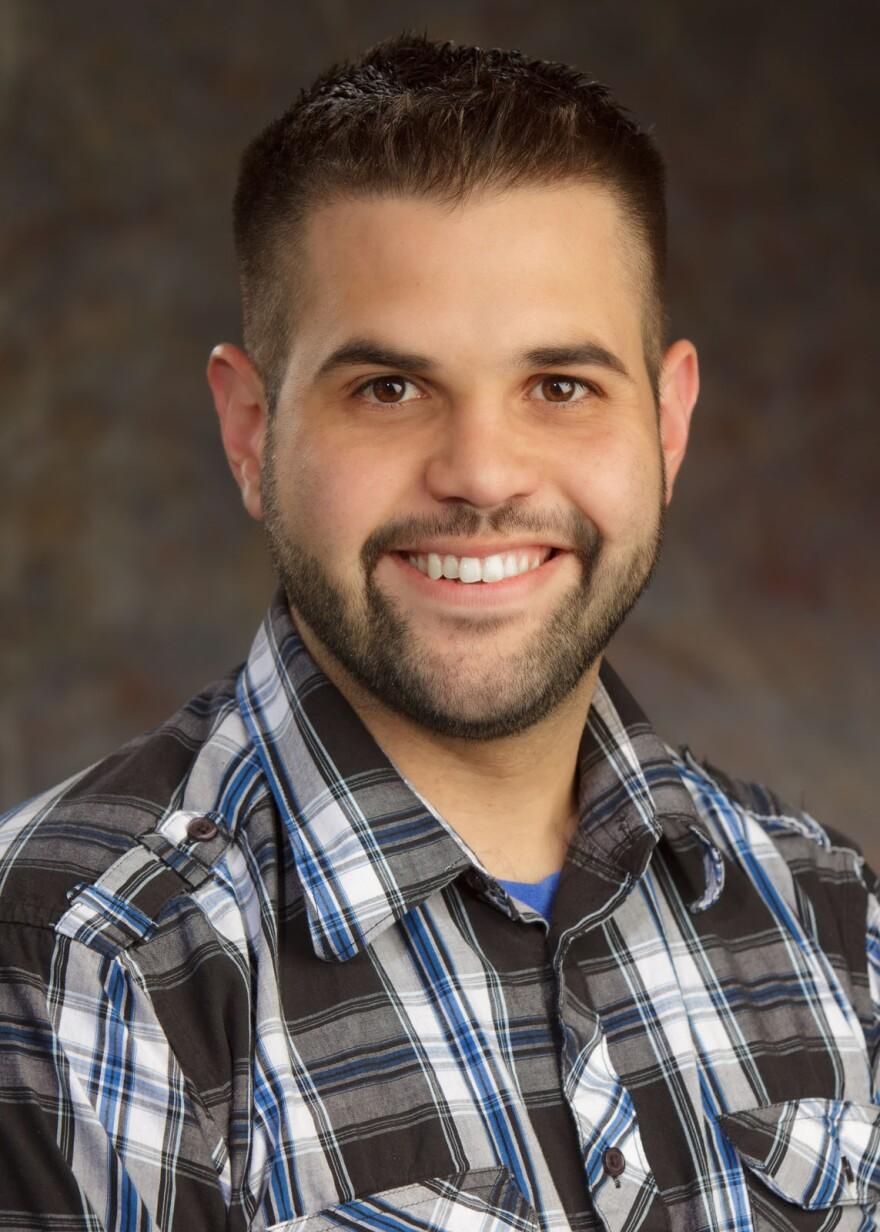 SLU Professor Alex Cuenca
