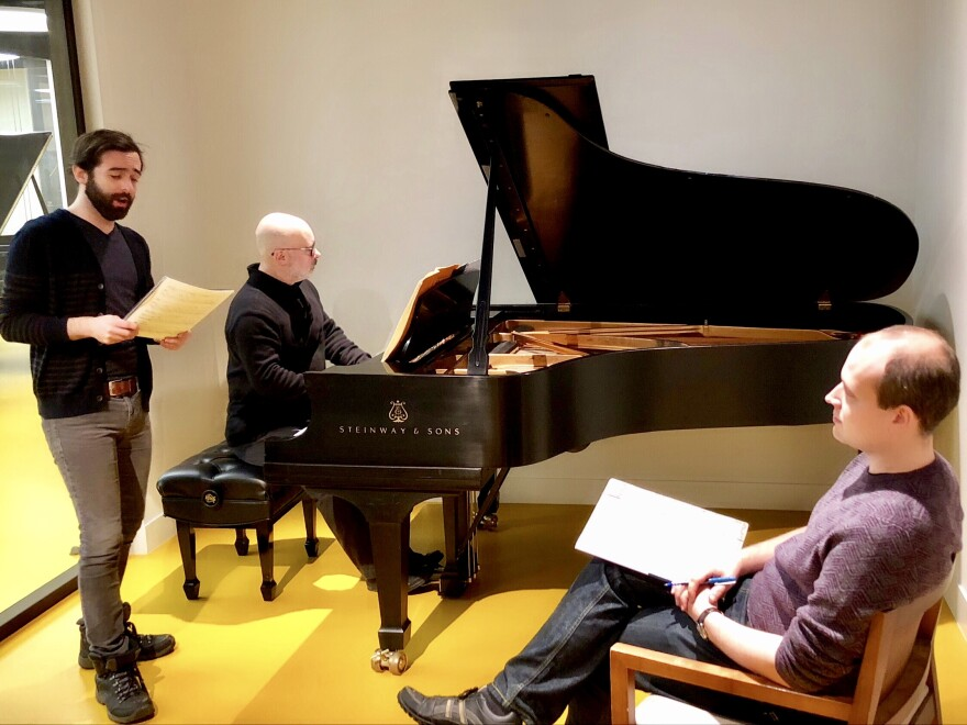 photo of Corey Shotwell, Gerardo Teissonnière and Evan Fein