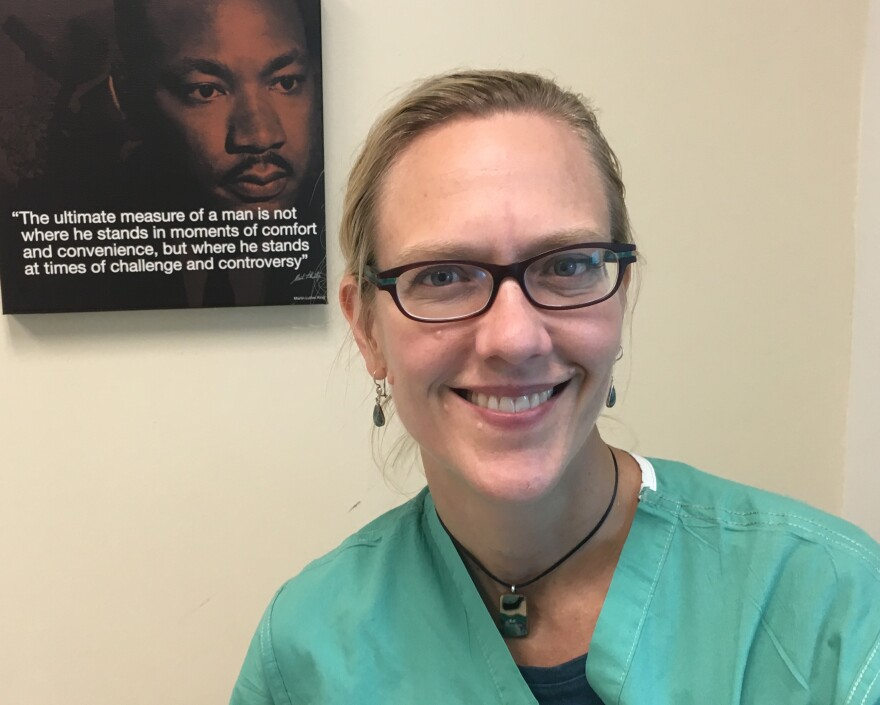 Dr. Tanya Zakrison is a trauma surgeon at Jackson Memorial Hospital.
