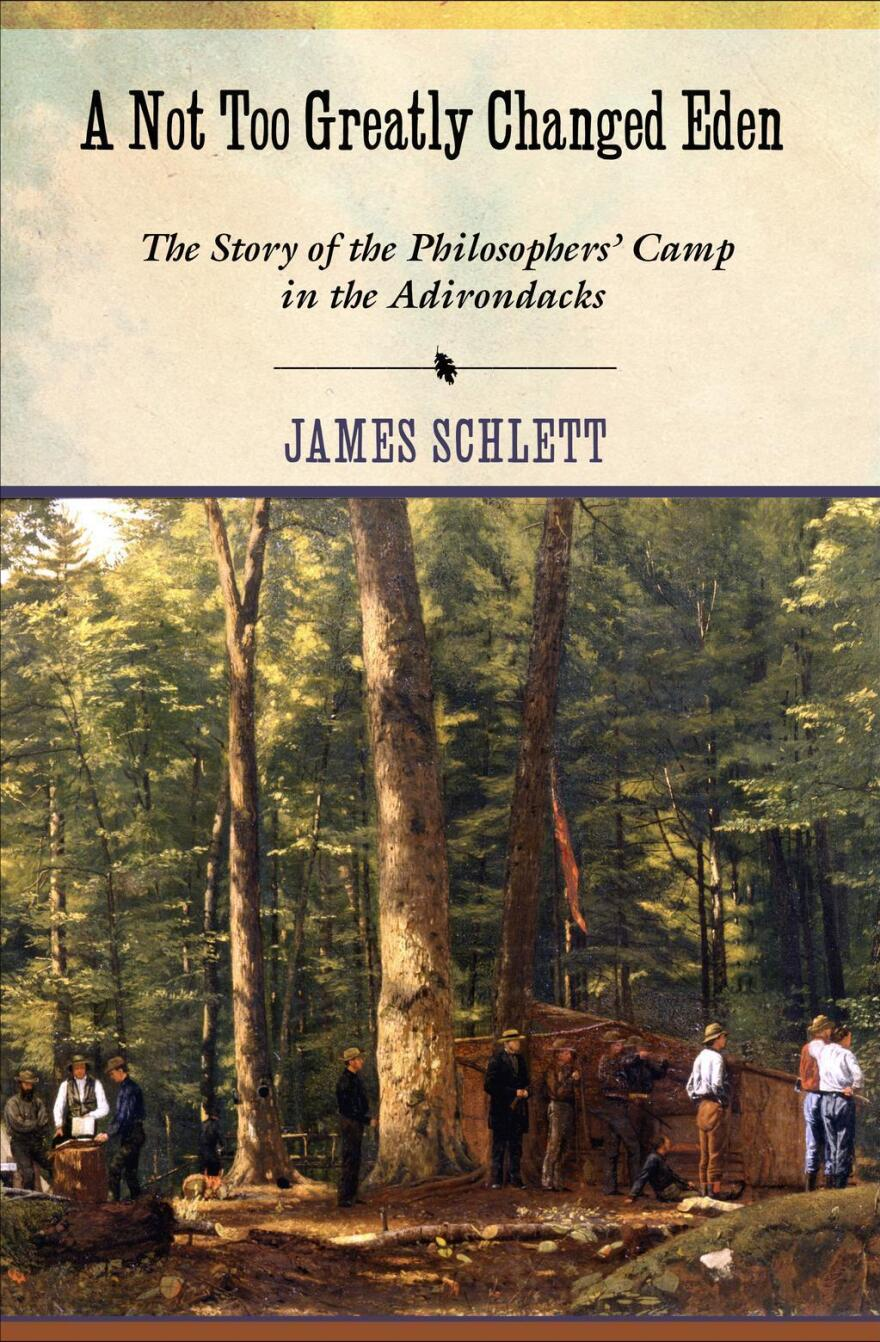 The book <em>A Not Too Greatly Changed Eden</em> inspired the trip to re-trace Emerson's steps to get to the Philosopher's Camp.