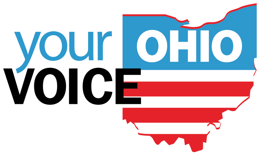 the your voice ohio logo