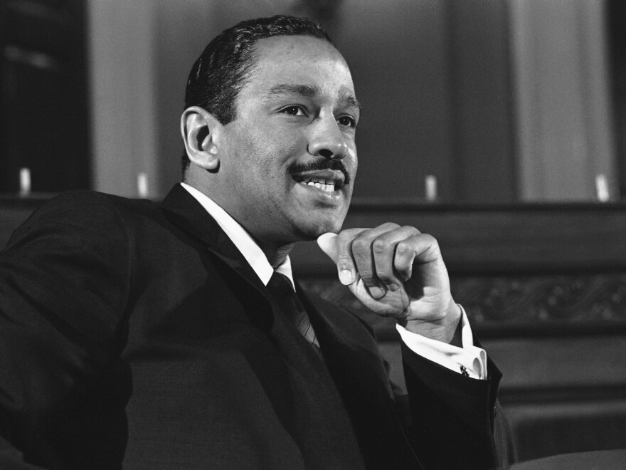 Conyers on Capitol Hill in 1967.