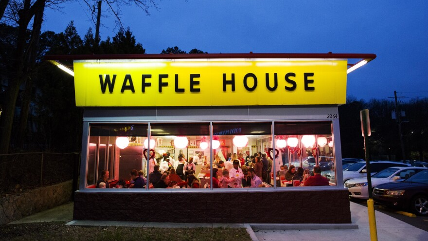 A Waffle House waitress went the extra mile for a customer last weekend and has now been given a college scholarship.