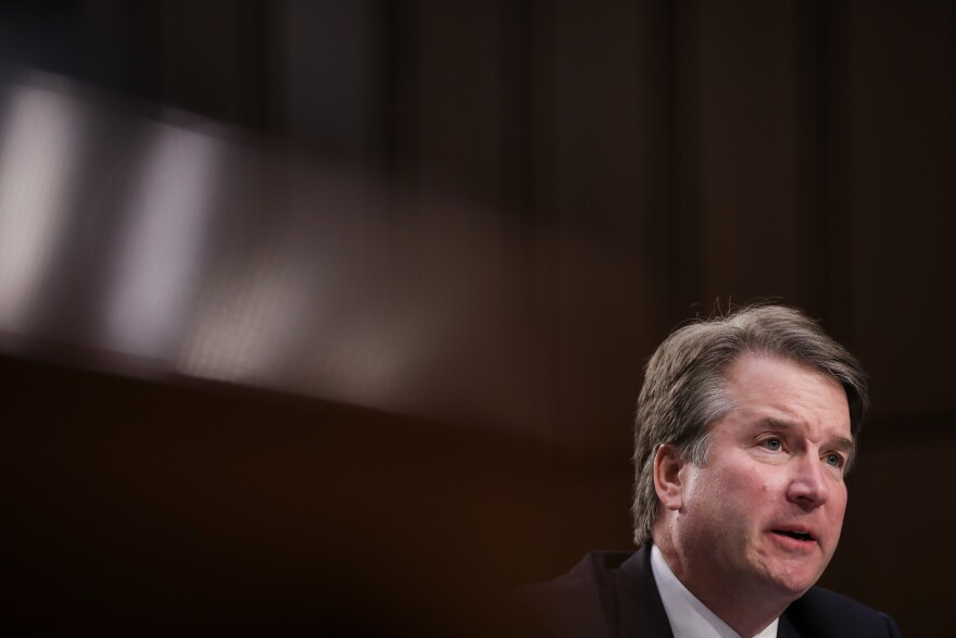 Supreme Court nominee Brett Kavanaugh testifies before the Senate Judiciary Committee during his confirmation hearing Sept. 6.