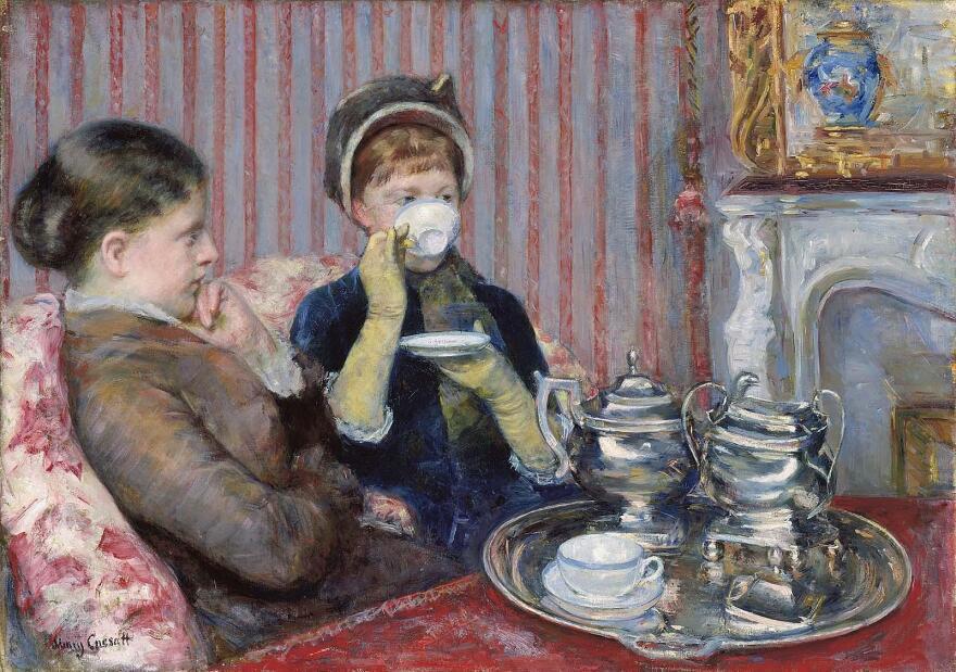 <em>The Tea</em>, Mary Cassatt, about 1880