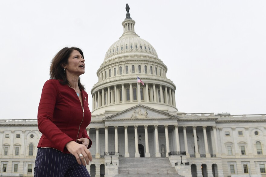 "Illinois Rep. Cheri Bustos, who is running the House Democrats' 2020 campaign operation, tell NPR: ""There couldn't be a clearer differentiation between what we are fighting for and what they are fighting against."""