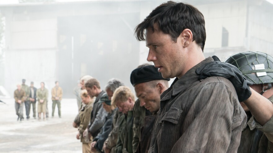 Rupert Evans plays Frank, a young man caught up in postwar drama and turmoil, in the Amazon Prime series, <em>The Man in the High Castle.</em>