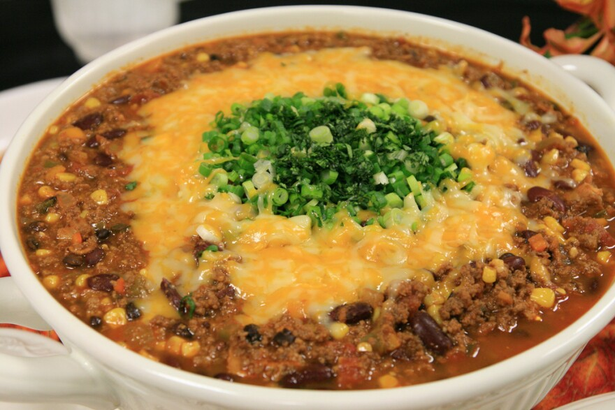 Venison chili prepared for a chili cookoff at DC Central Kitchen. The nonprofit received 3,300 pounds of deer meat from the National Park Service between December 2013 and March 2014.