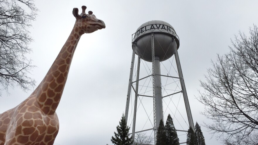 Delavan, Wis., is home to giant circus animal statues that commemorate a quirky history as the place where circus companies wintered.
