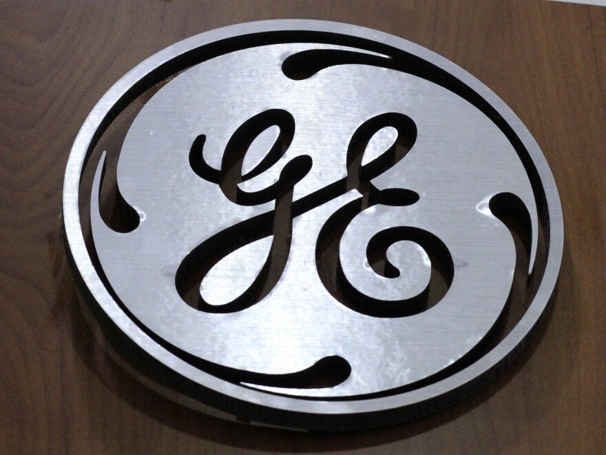 General Electric's corporate logo is the same, but the company says it's getting out of financial services and shouldn't be considered a systemically important financial institution.