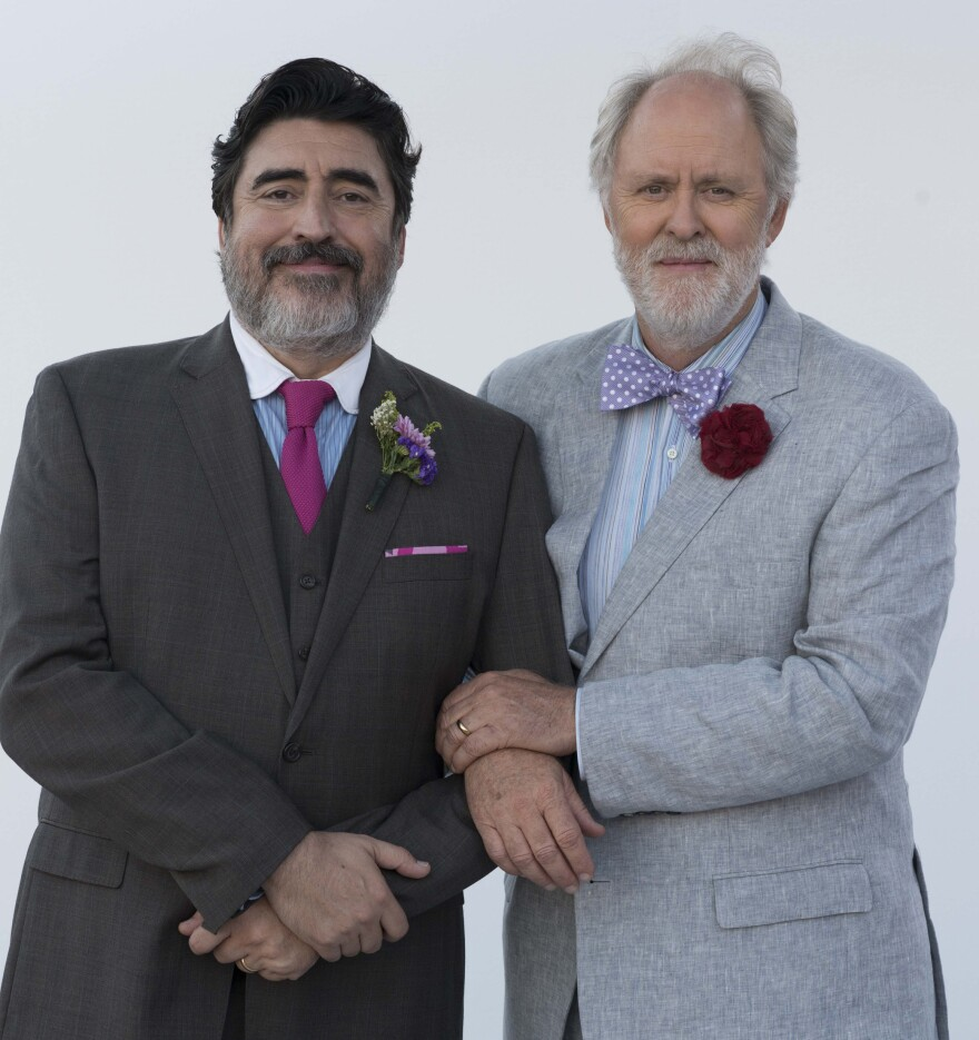 Alfred Molina (left) and John Lithgow play George and Ben in <em>Love Is Strange</em>, a film about two men who have shared four decades of their lives.