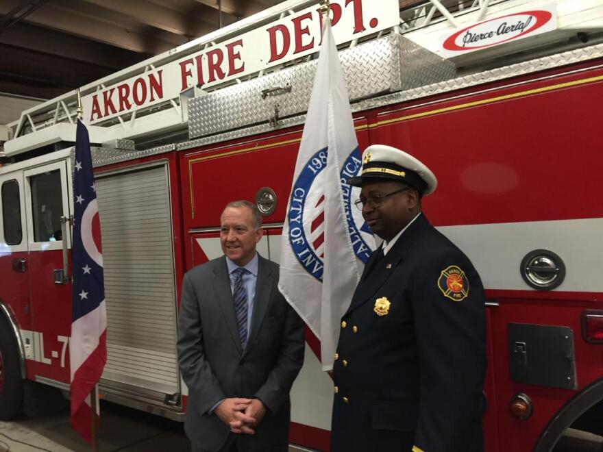 Mayor of Fire Chief, Akron