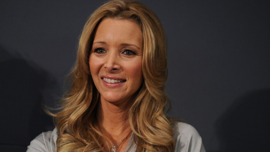 Lisa Kudrow, seen here in 2010, stars in Showtime's <em>Web Therapy</em>, a show she also created.