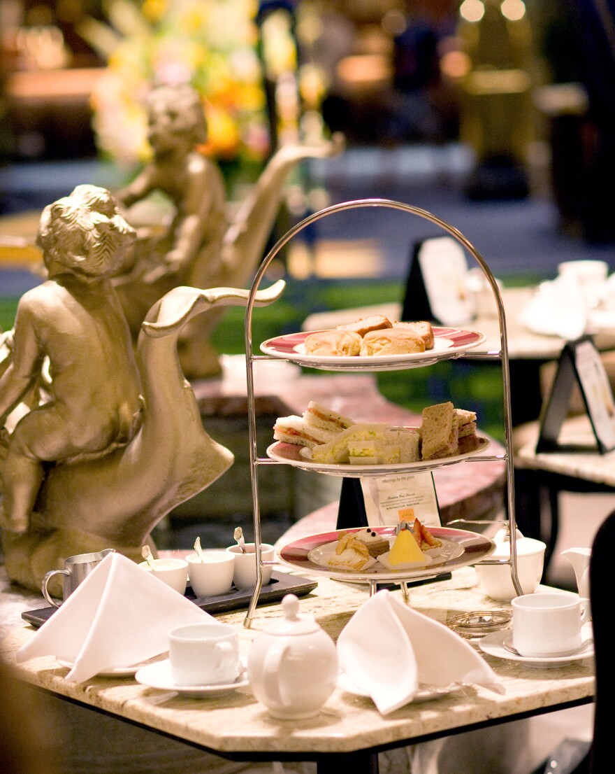 "The Drake Hotel in Chicago holds hour-and-a-half-long Christmas tea sittings. ""It gives people plenty of time to linger,"" says Lynda Simonetti, the Drake's marketing and PR manager."