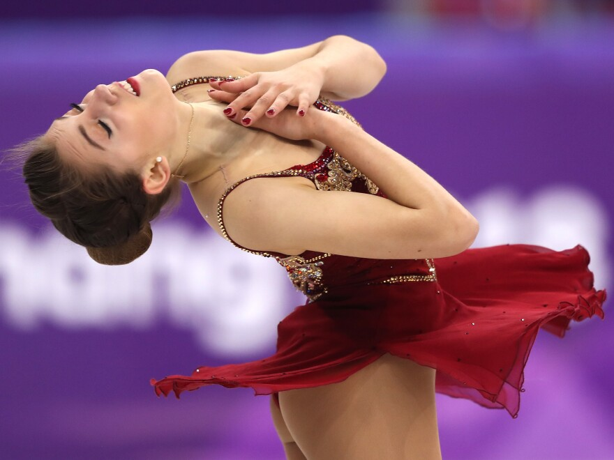 """Alexia Paganini of Switzerland competes on Friday. """"To know my whole family from Switzerland is watching me,"""" Paganini says, """"It's just an honor."""""""