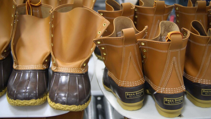 A surge in popularity of L.L. Bean boots has the Maine company scrambling to fill orders.