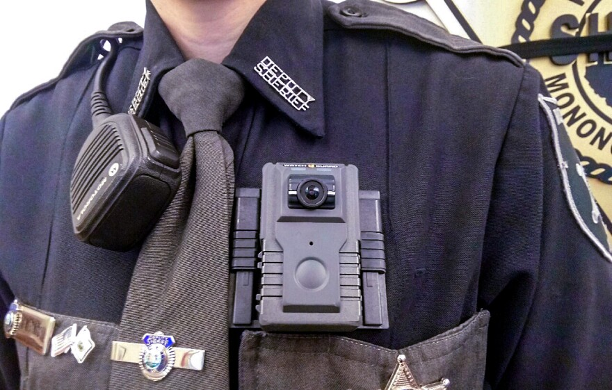 The Monongalia County Sheriff's Department's new body cameras are constantly recording footage.