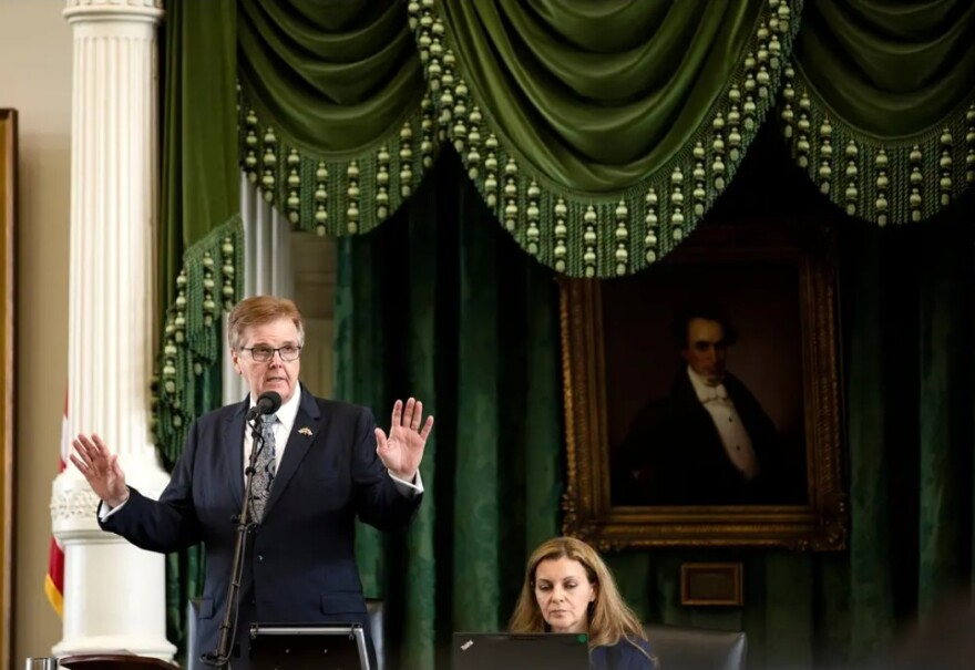Lt. Gov. Dan Patrick's crusade for proof of election problems in Texas comes as members of his Republican Party dominated up and down the ballot.