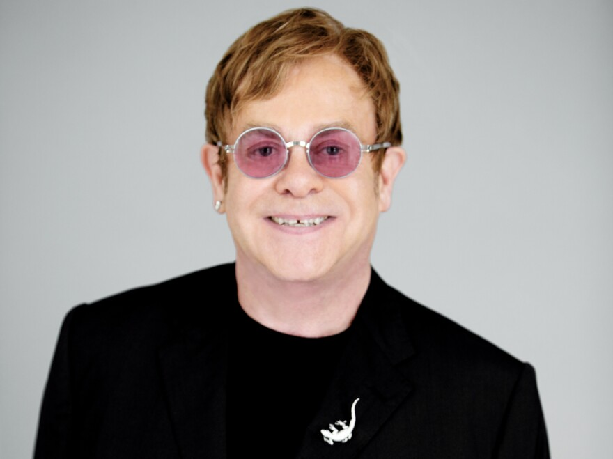 "Elton John tells <em>Fresh Air</em>'s Terry Gross that <em>The Diving Board</em> is ""a very adult album."""