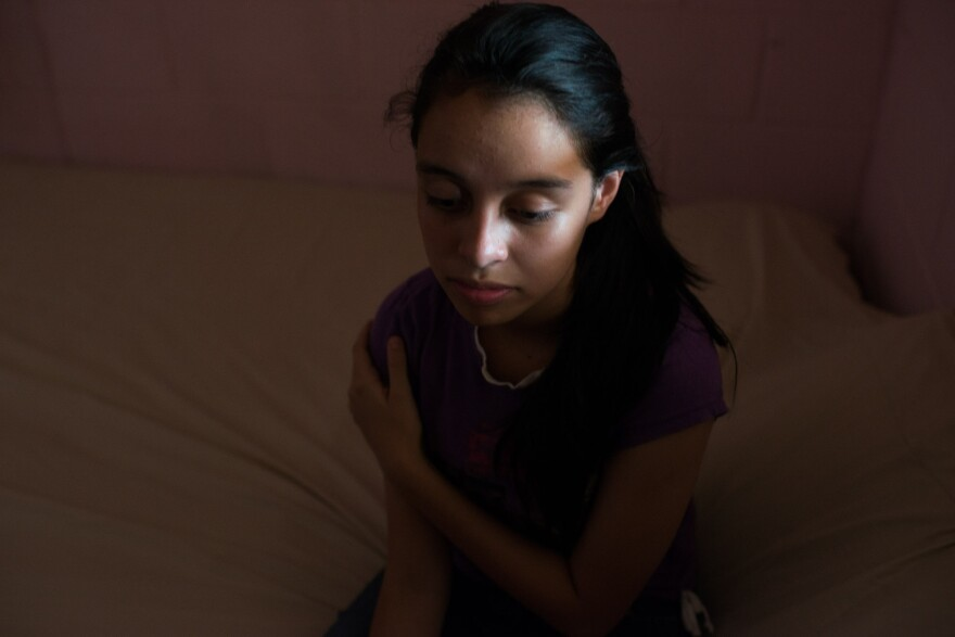After Aby Salas' best friend disappeared, she stopped leaving her house except to go to school.