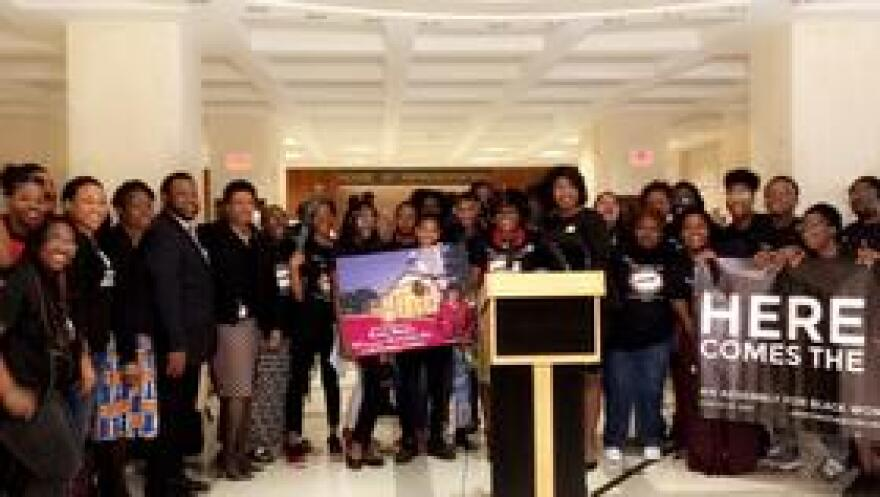 Groups like Power U: Center For Social Change and S.O.U.L. Sisters make their mark at the Capitol.