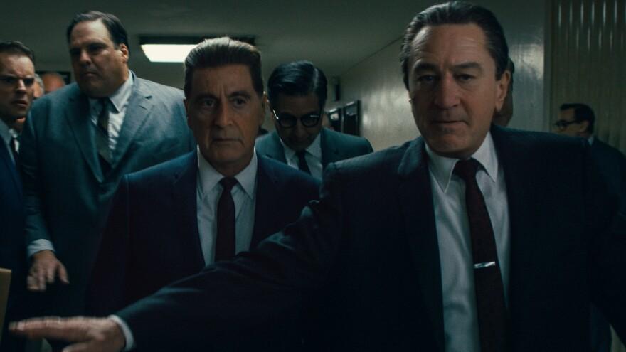 Robert De Niro and Al Pacino share the screen in Martin Scorsese's <em>The Irishman</em>.