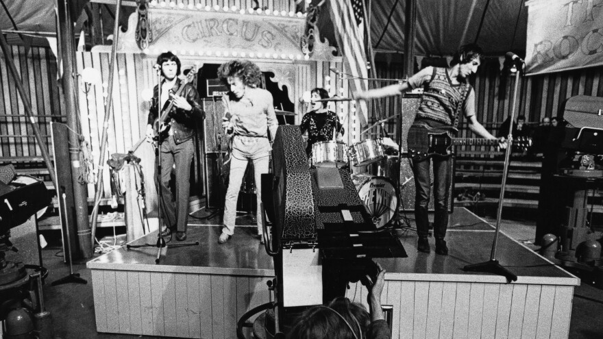 The Who perform at the Rolling Stones' Rock and Roll Circus.