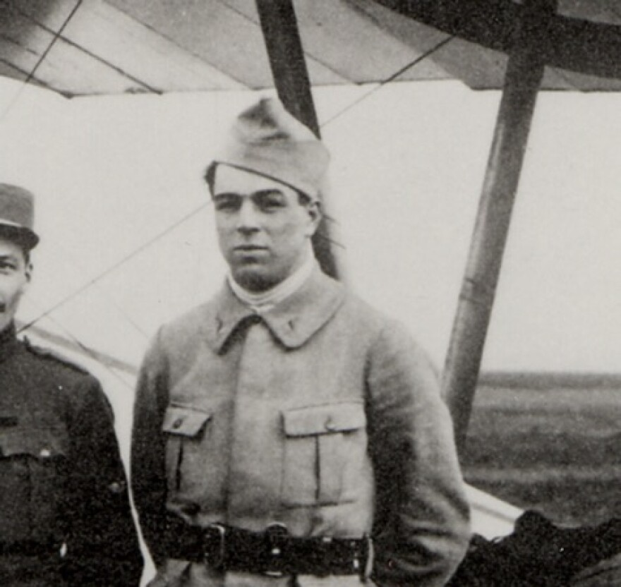 Victor Chapman was a founding member of the Lafayette Escadrille, a group of American volunteers who flew for the French before the United States entered World War One