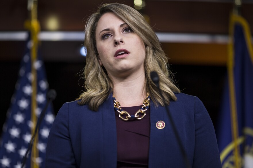 Freshman Rep. Katie Hill, D-Calif., announced her resignation on Sunday following allegations that she had inappropriate sexual relations with a member of her staff.